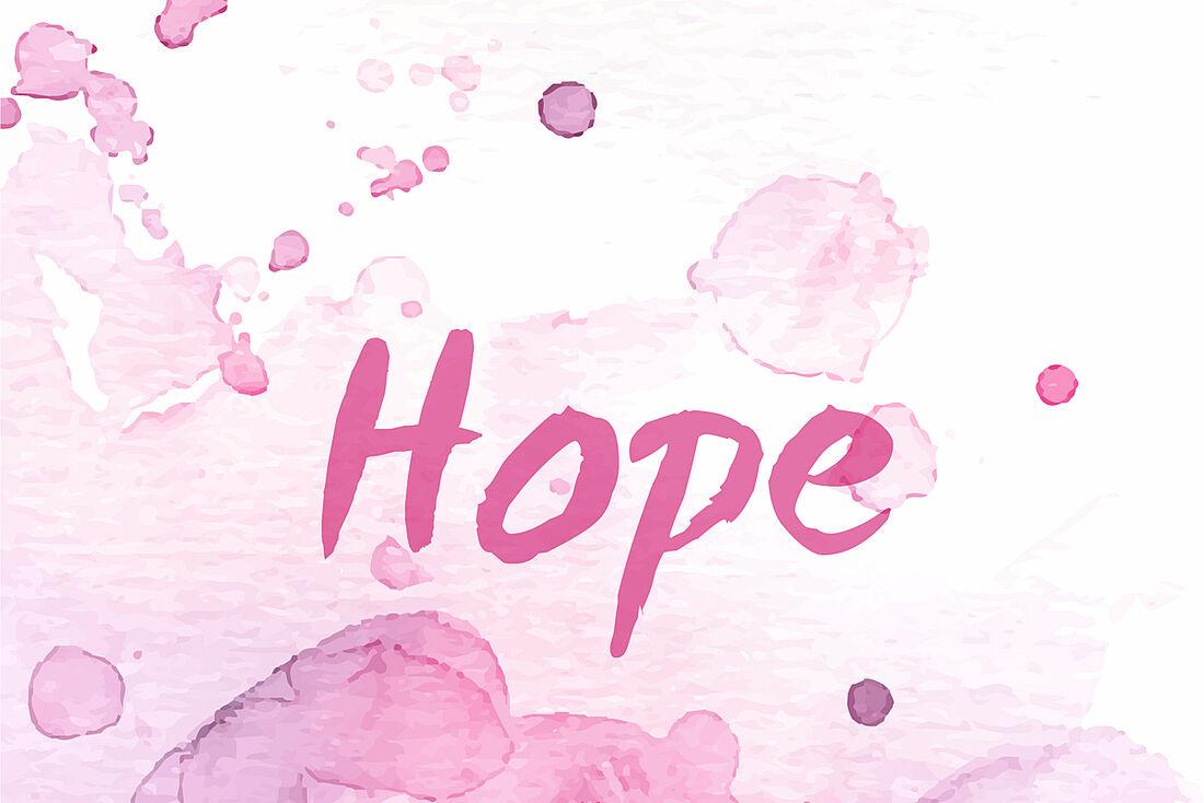 die rosa schleife fur brustkrebs