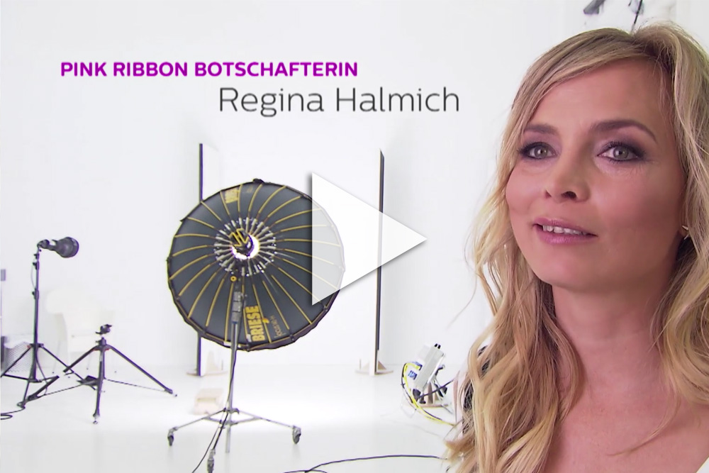 Making-of Video der Pink Ribbon Kampagne