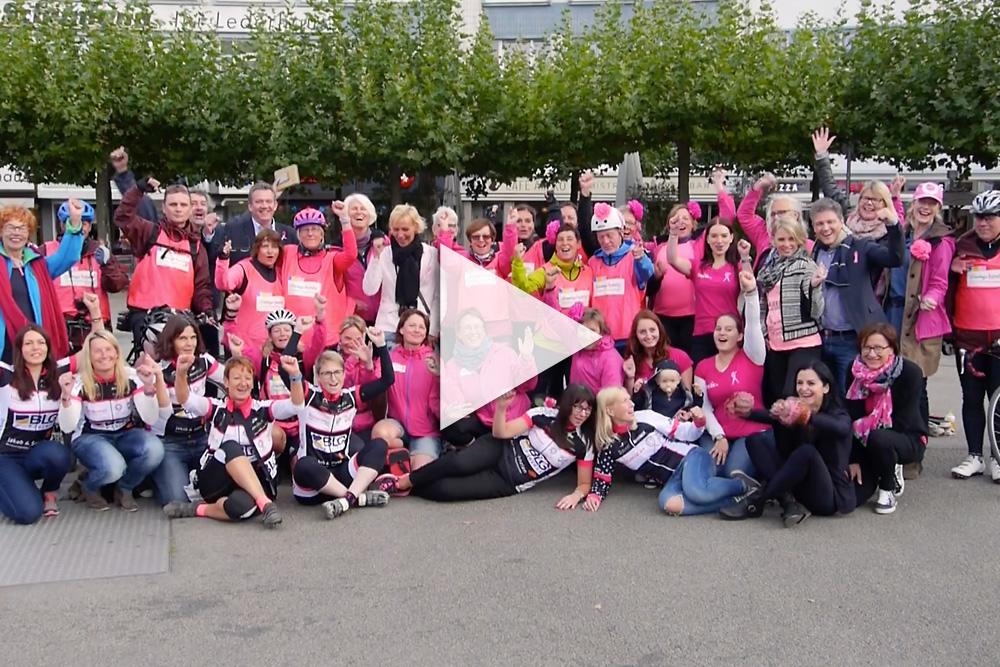 Pink Ribbon Deutschland Radtour Finale in Kassel 2016