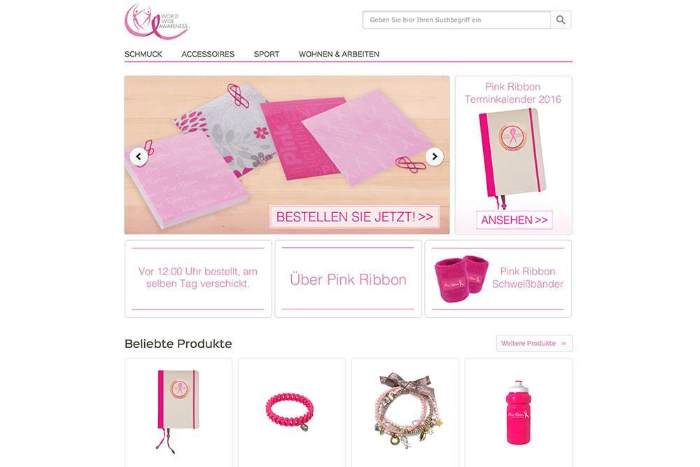 Pink Ribbon Deutschland Webshop